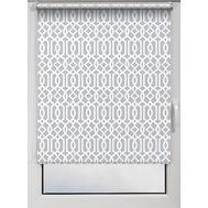 Штора рулонная Print мактрэл серый