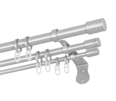 Карниз круглый трехрядный металлический Легия LE201410
